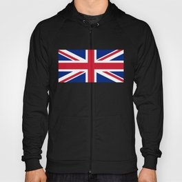 Union Jack, Authentic color and scale 1:2 Hoody