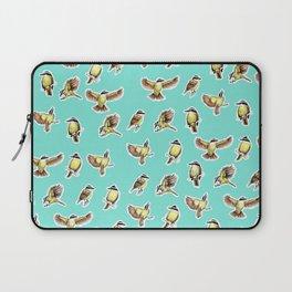 Bichofue pattern / great kiskadee illustration Laptop Sleeve