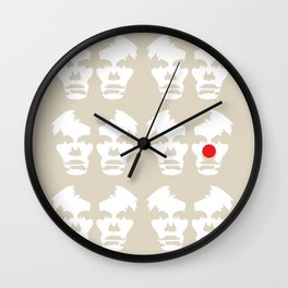 Clowning Around (minus) Wall Clock