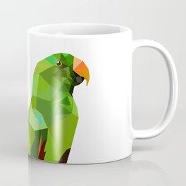Eclectus parrot Geometric bird art Coffee Mug