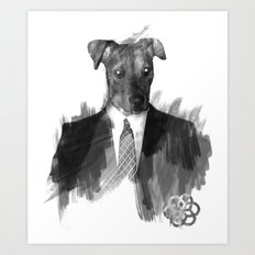 Reservoir Dog Art Print