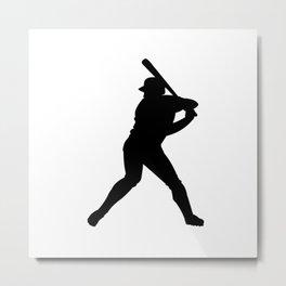 softball players Metal Print