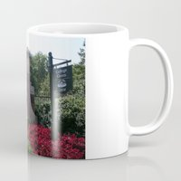 college Mugs featuring Ohio University College Gate  by TiffanyOneillPhotography