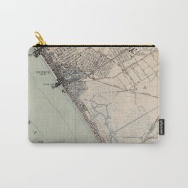 Vintage Map of Venice Beach California (1923) Carry-All Pouch