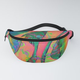 Psychedelic sketch Fanny Pack