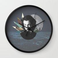 chic Wall Clocks featuring Chic by Ian Watt