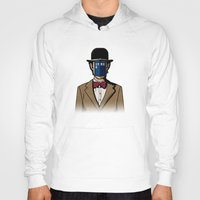 magritte Hoodies featuring Doctor Magritte by le.duc