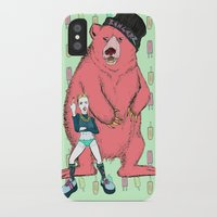 miley cyrus iPhone & iPod Cases featuring Miley Cyrus by Lizz Buma