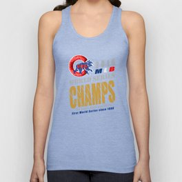 World Series Champs 2016 : Cubs Unisex Tank Top
