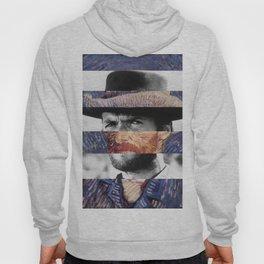 Van Gogh's Self Portrait and Clint Eastwood Hoody
