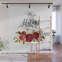 Always Red and Gold Wall Mural