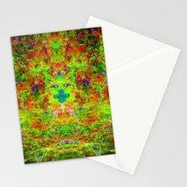 Fire Breather (Acid Breath) Stationery Cards