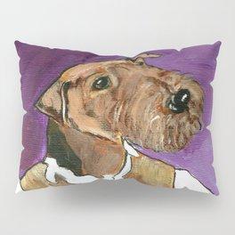 Best dressed Airedale Pillow Sham