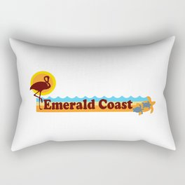 Emerald Coast -Florida. Rectangular Pillow