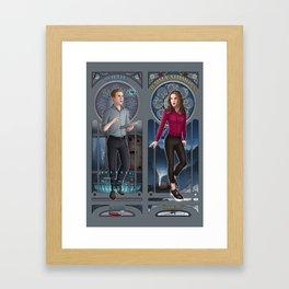 Art Nouveau - Fitzsimmons Framed Art Print