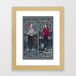 Art Nouveau - Fitzsimmons Framed Art Print