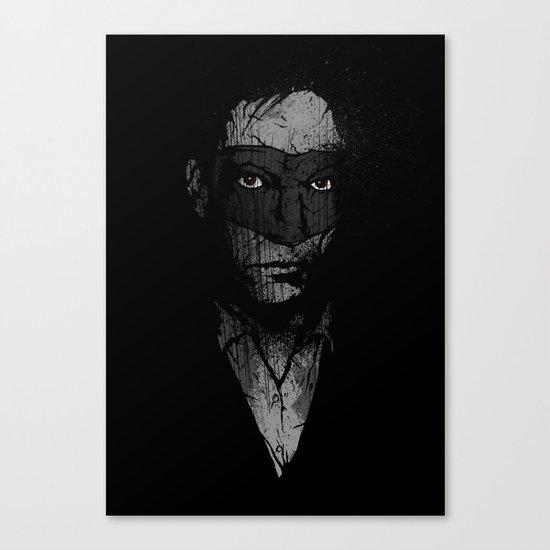 Father Hazard (Red Eyes) Canvas Print