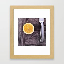 it's what's inside that counts. Framed Art Print