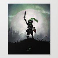 Link Kid Canvas Print