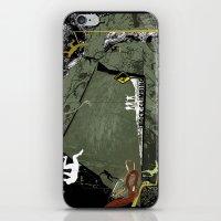 climbing iPhone & iPod Skins featuring Rock Climbing by Robin Curtiss