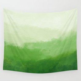 Abur on Green Wall Tapestry
