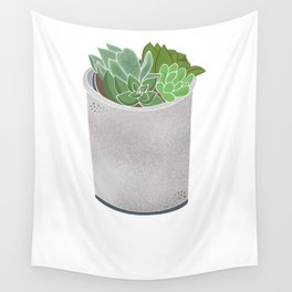 Cactus Plant II Wall Tapestry