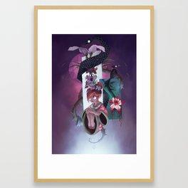The Dreamteller of Sleeparalysis Framed Art Print