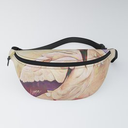 Heron Pinked Fanny Pack