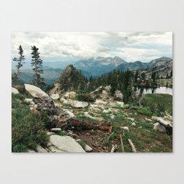 Utah Alpine Canvas Print