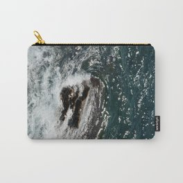 Rock in the Sea Carry-All Pouch