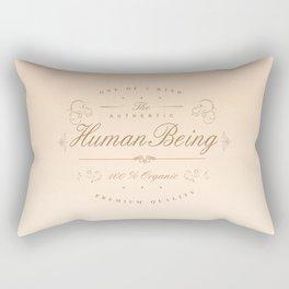 100% Human Rectangular Pillow