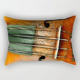 Alte Geige. Rectangular Pillow