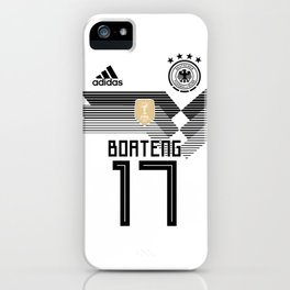 Boateng - Germany World Cup 2018 iPhone Case