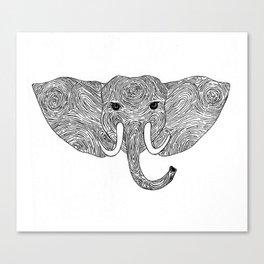 Eleprint Canvas Print
