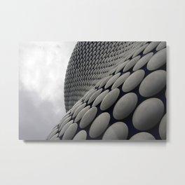 Wall Of Disks Metal Print