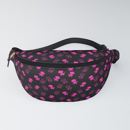 Aliens-Pink Fanny Pack