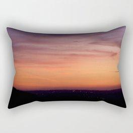 Sunset Landscape Rectangular Pillow