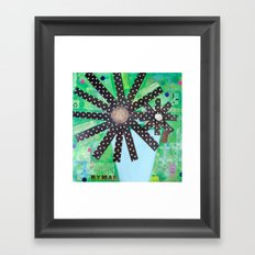 A lotta polka dots! Framed Art Print