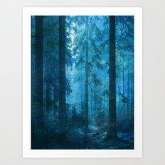 Amazing Nature - Forest 2 Art Print