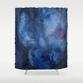 Cosmos I Shower Curtain