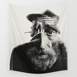 OLD MAN Wall Tapestry