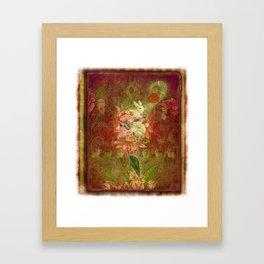 Les Jardins Des Lapins (The Garden of Rabbits) Framed Art Print