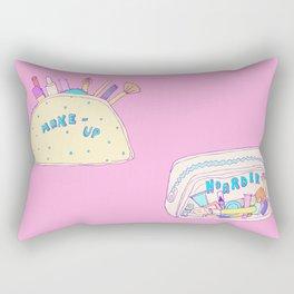 Make-up Hoarder Rectangular Pillow