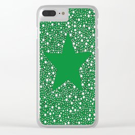 Starstruck Green Clear iPhone Case
