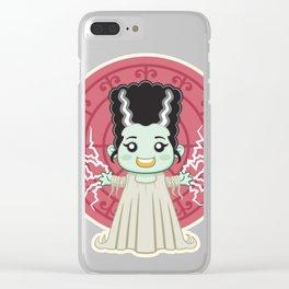 Frankenstein Bride Kid Clear iPhone Case