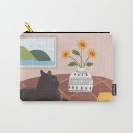 Cat on the Table Carry-All Pouch