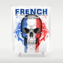 To The Core Collection: France Shower Curtain