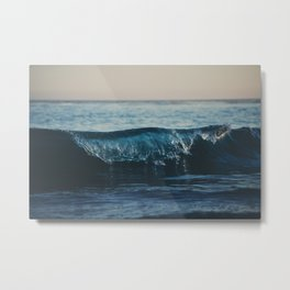 the wave ... Metal Print