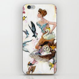 Lady of Spring iPhone Skin
