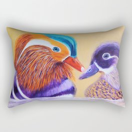 Lovers | Amants Rectangular Pillow